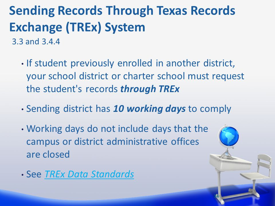 Sending Records Through Texas Records Exchange (TREx) System