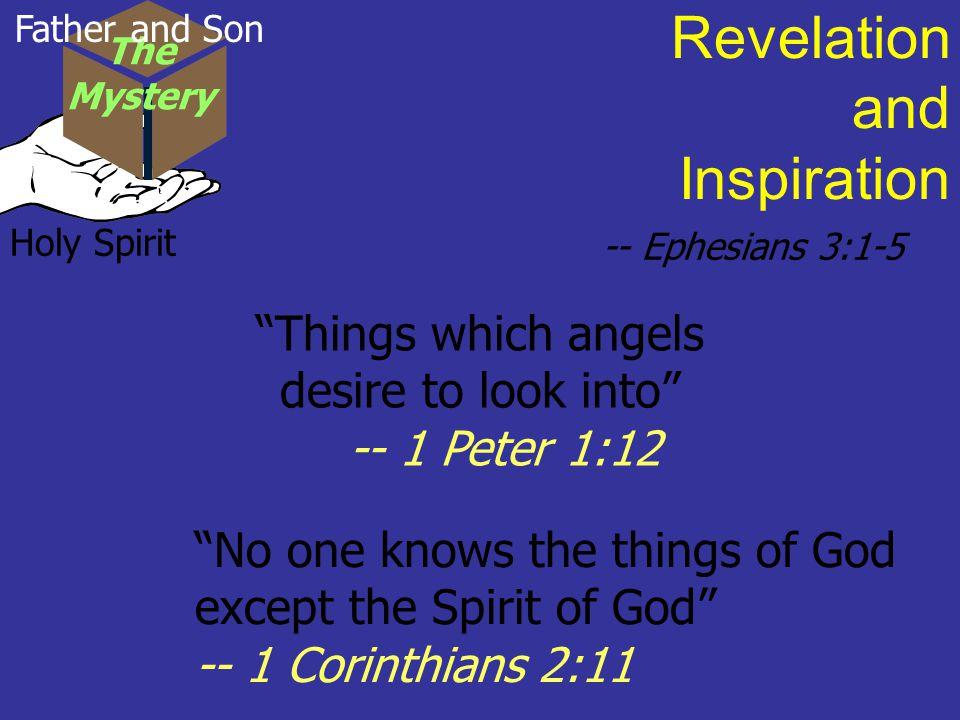 Revelation and Inspiration