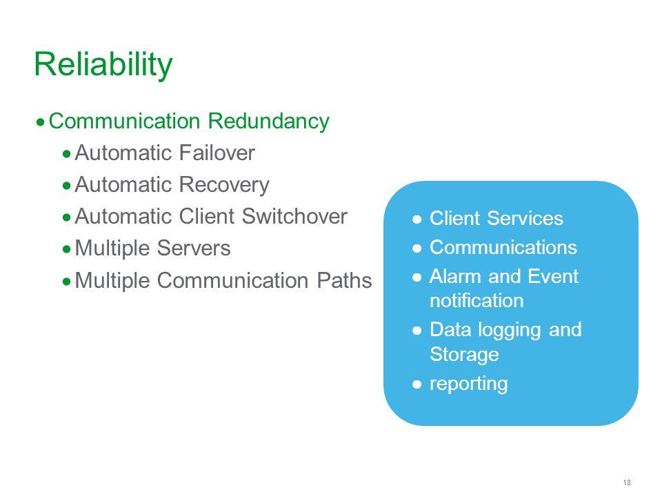 Reliability Communication Redundancy Automatic Failover