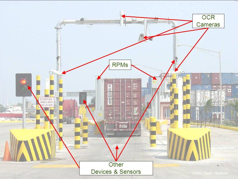 OCR Cameras RPMs Other Devices & Sensors Puerto Cortes, Honduras
