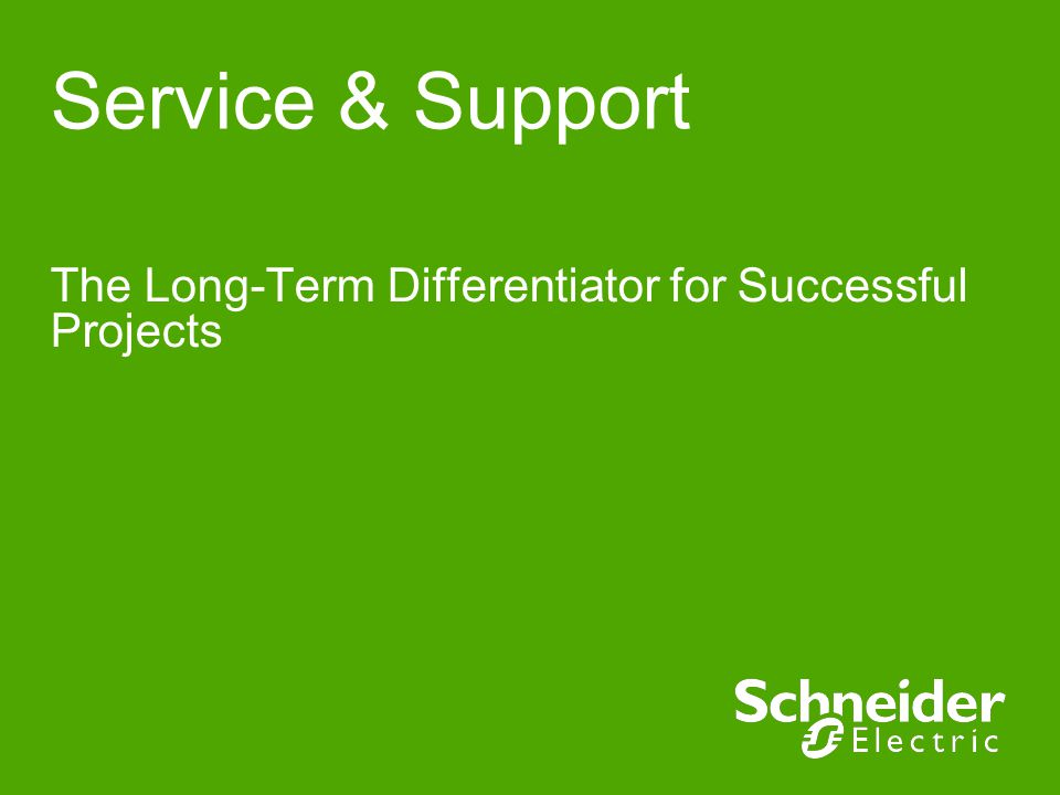 The Long-Term Differentiator for Successful Projects