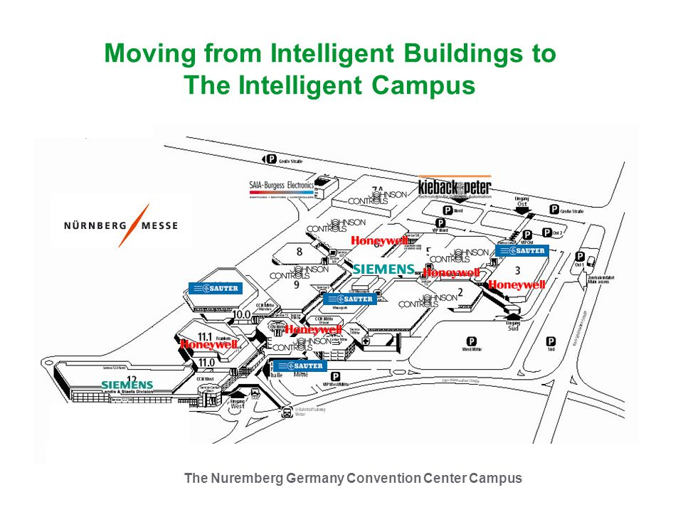 Moving from Intelligent Buildings to The Intelligent Campus