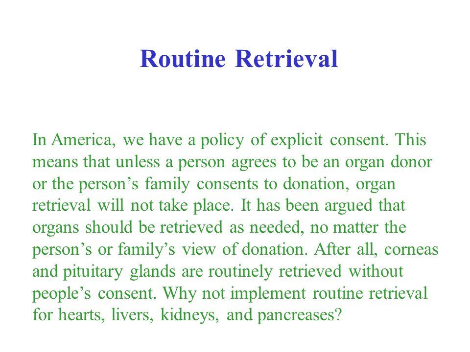 Routine Retrieval