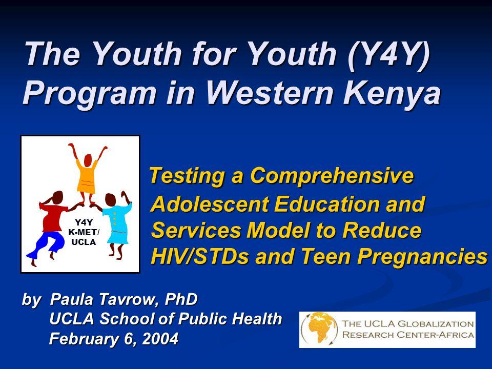 The Youth for Youth (Y4Y) Program in Western Kenya
