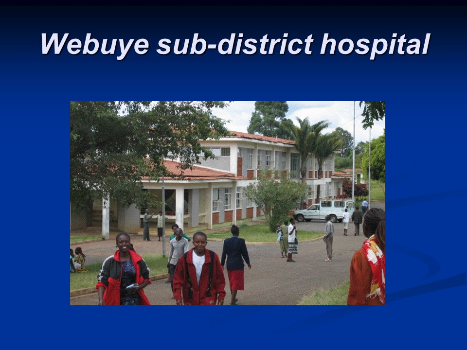 Webuye sub-district hospital