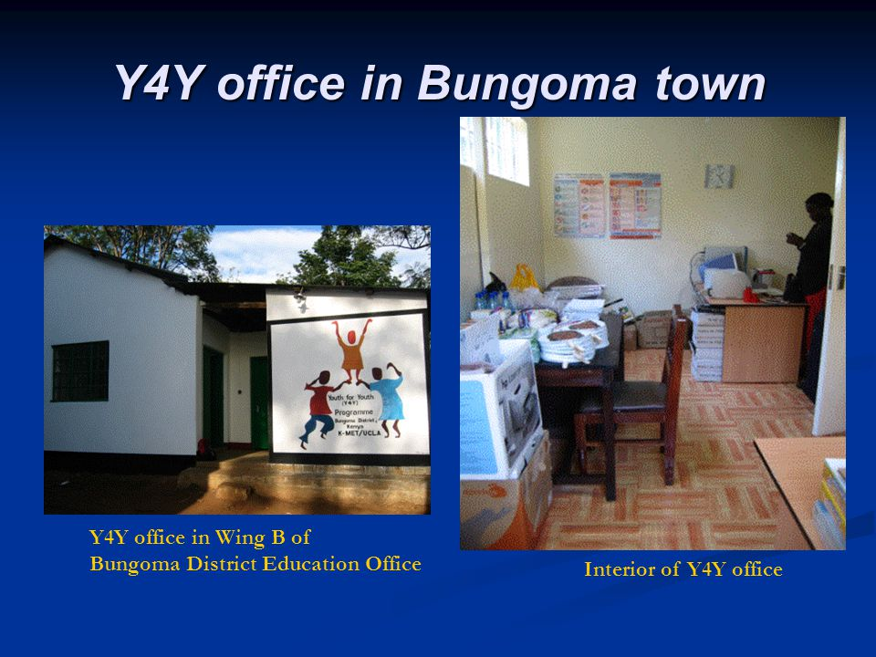 Y4Y office in Bungoma town