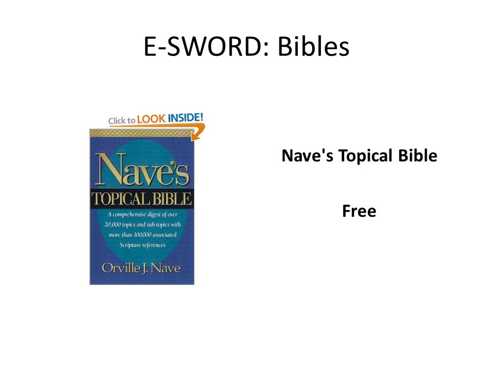 Nave s Topical Bible Free