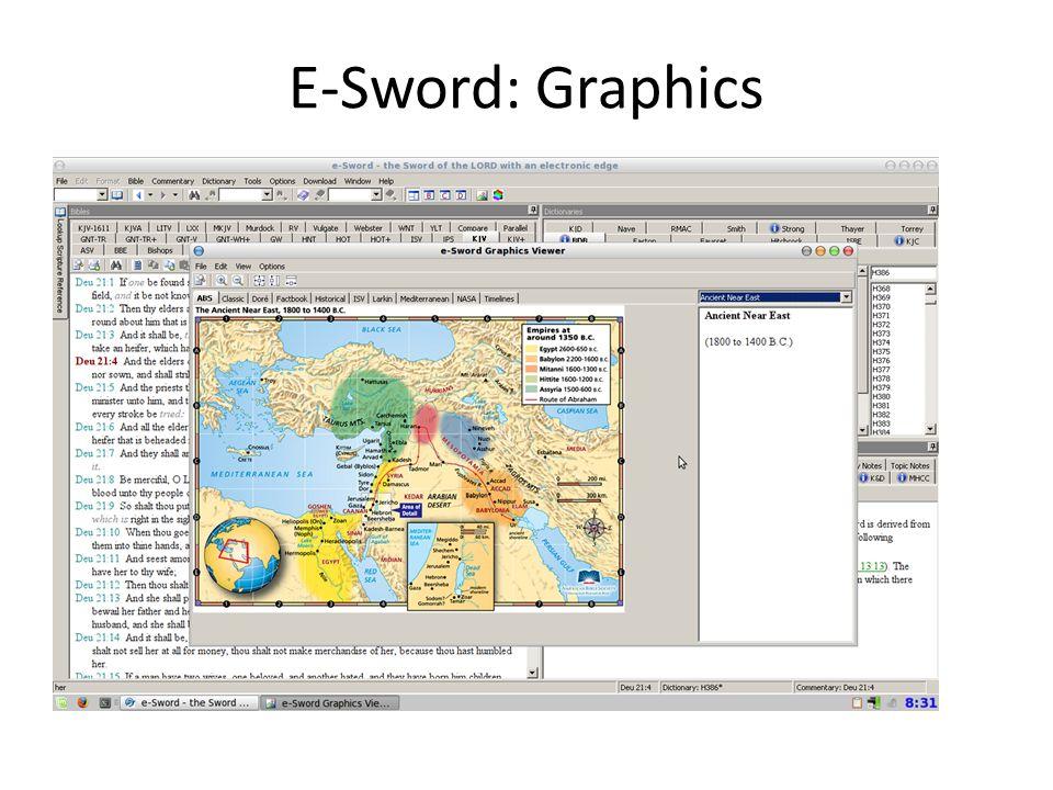 E-Sword: Graphics