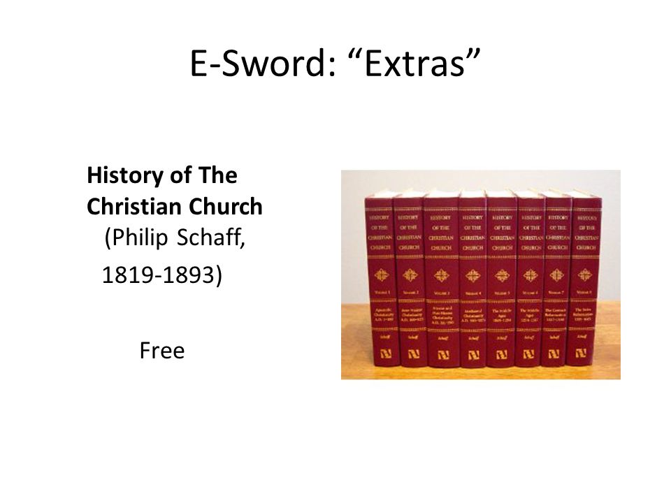 History of The Christian Church (Philip Schaff, 1819-1893) Free