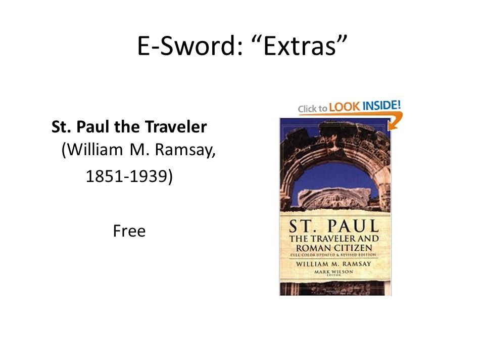 St. Paul the Traveler (William M. Ramsay, 1851-1939) Free