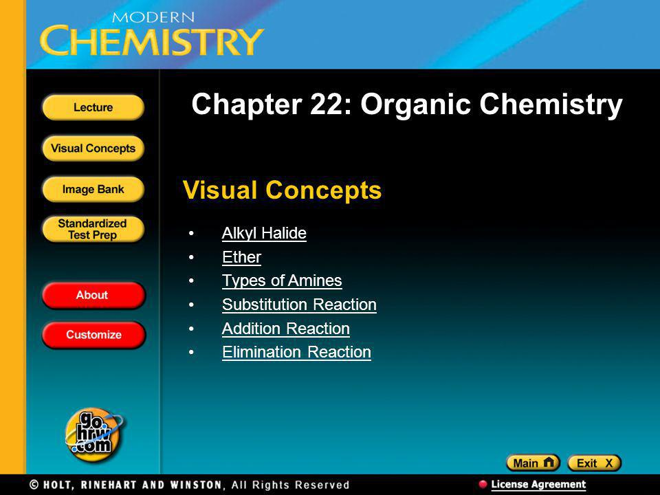 Chapter 22: Organic Chemistry
