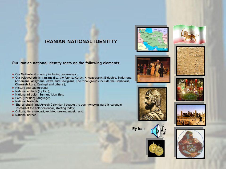 IRANIAN NATIONAL IDENTITY