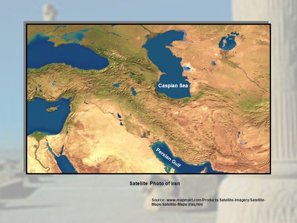 Caspian Sea Persian Gulf