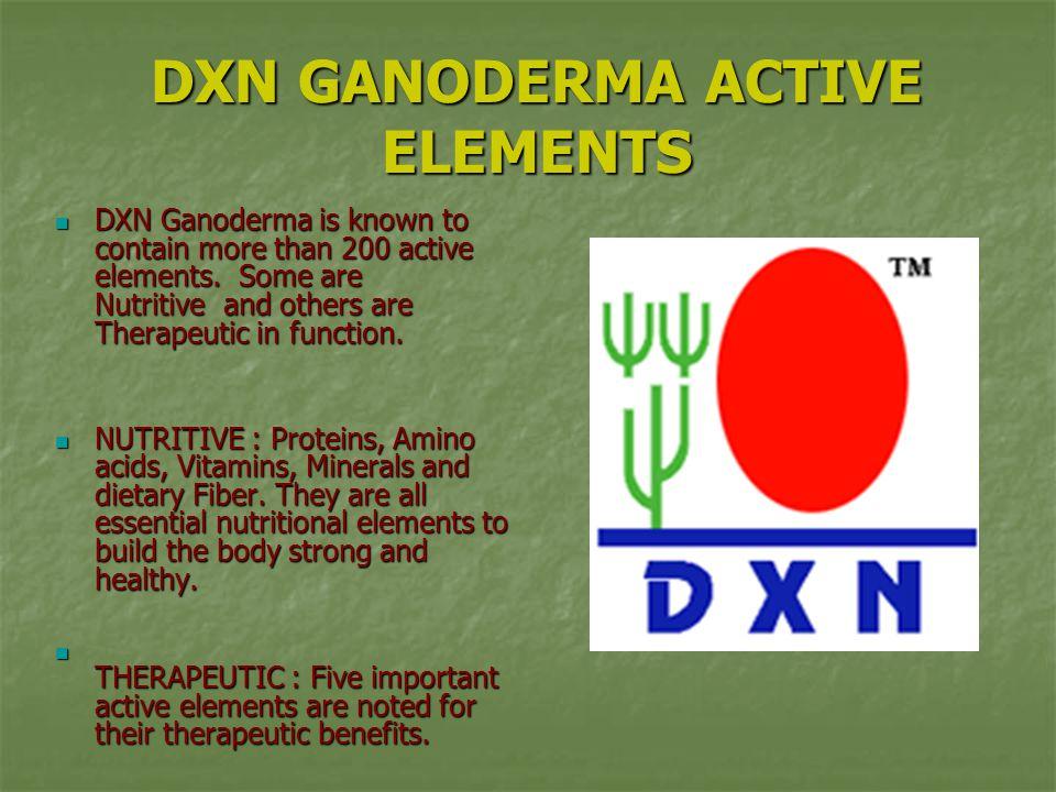 DXN GANODERMA ACTIVE ELEMENTS