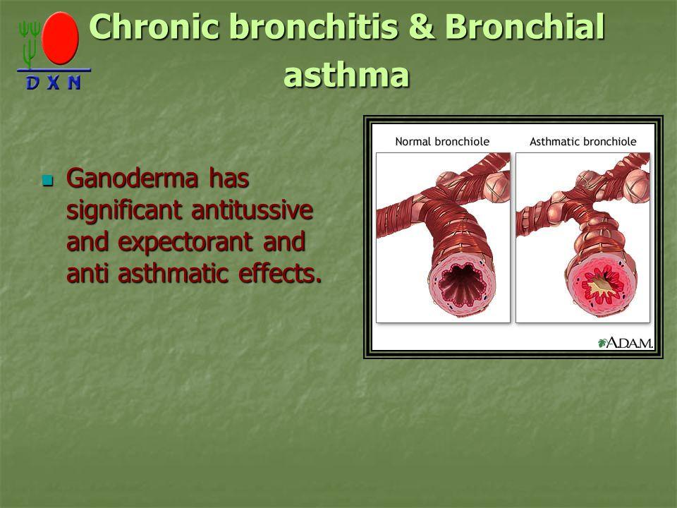 Chronic bronchitis & Bronchial asthma