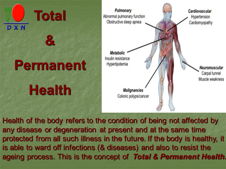 Total & Permanent Health