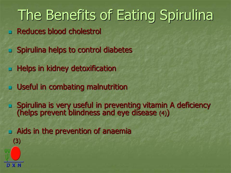 The Benefits of Eating Spirulina