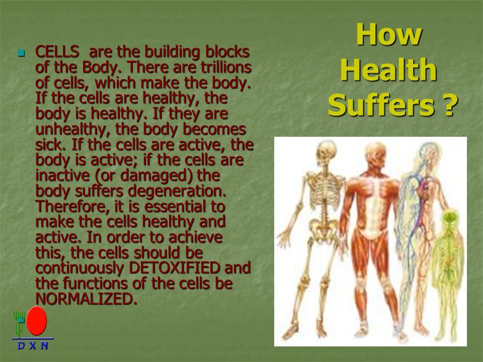 How Health Suffers