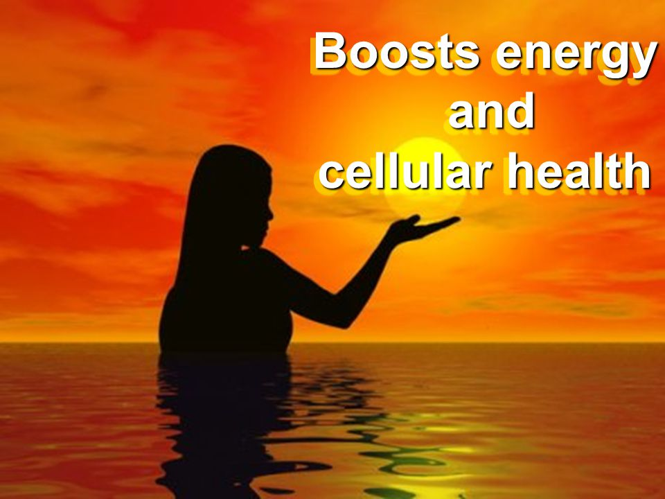 Boosts energy and cellular health
