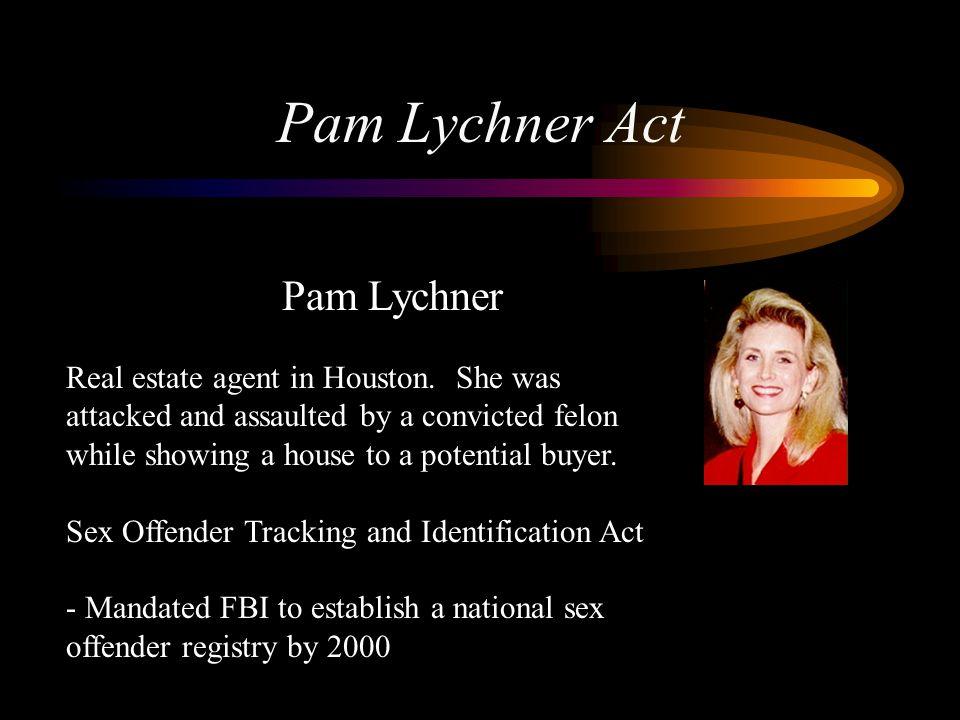 Pam Lychner Act Pam Lychner