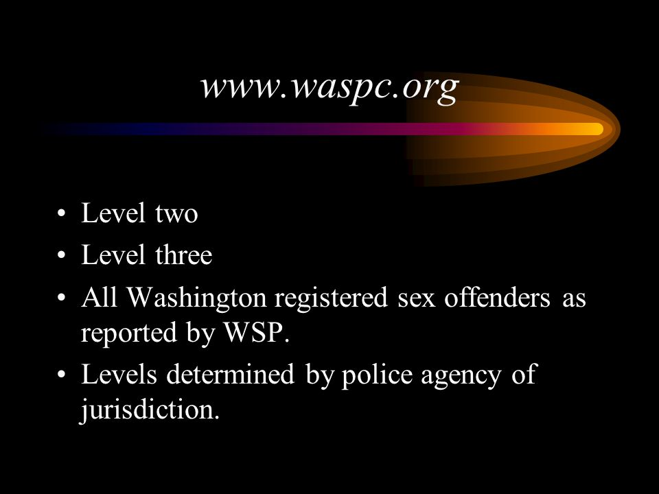 www.waspc.org Level two Level three