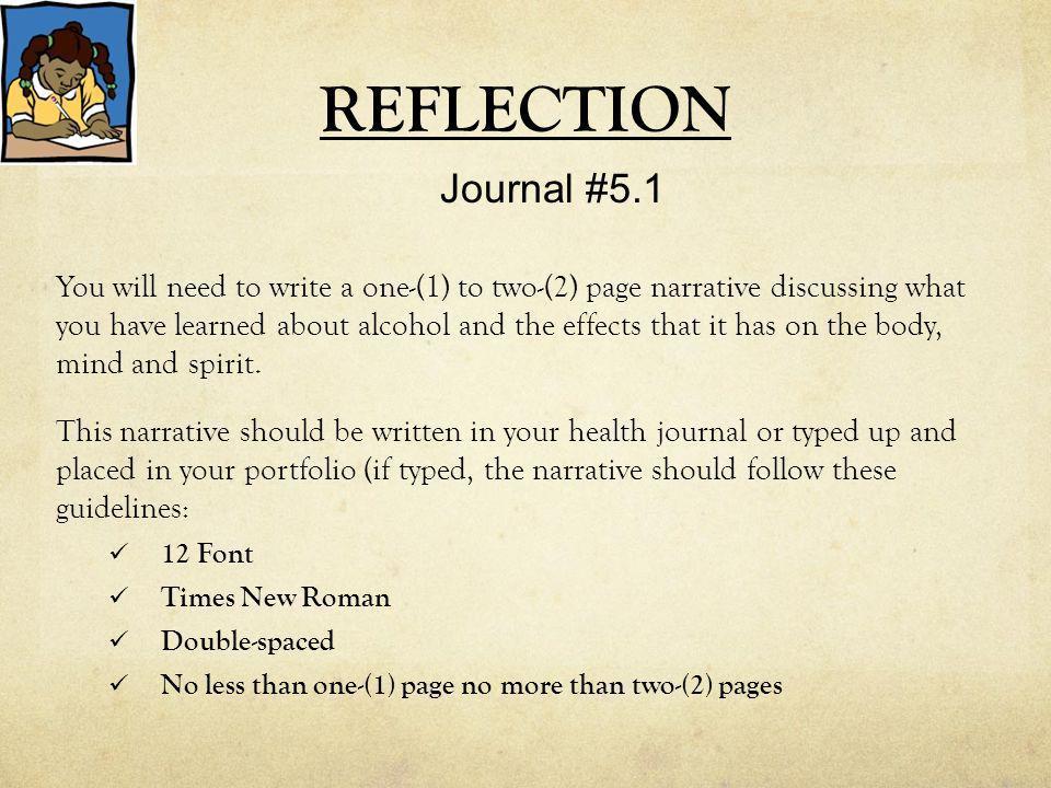 REFLECTION Journal #5.1.