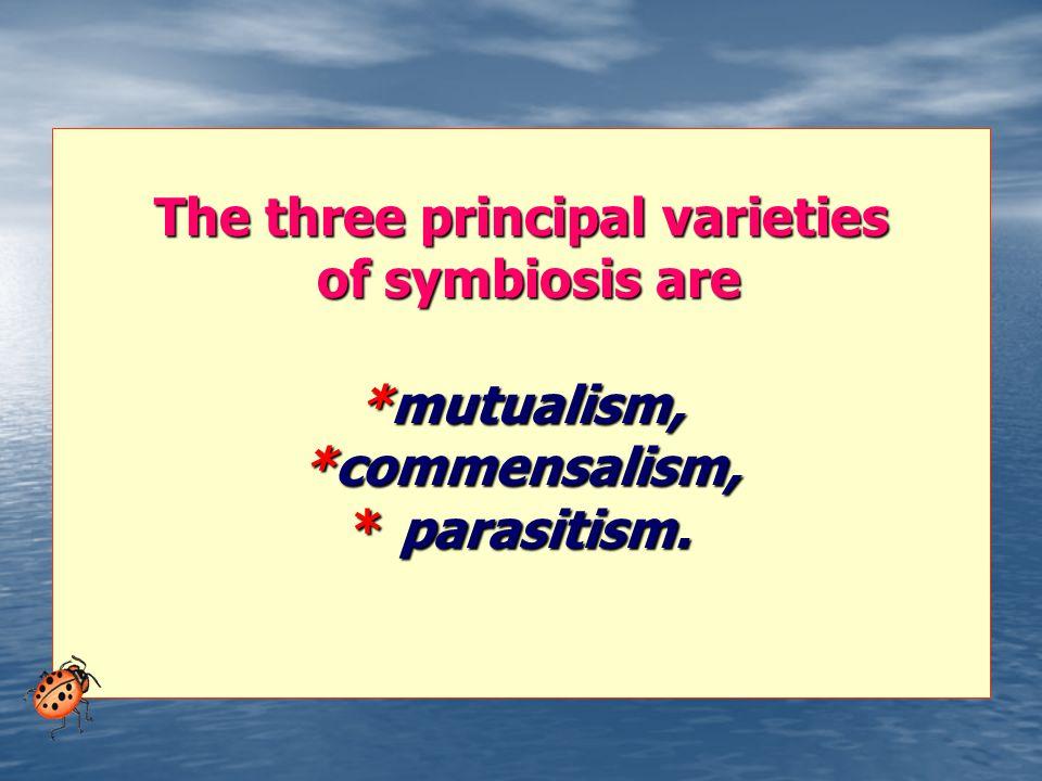 The three principal varieties
