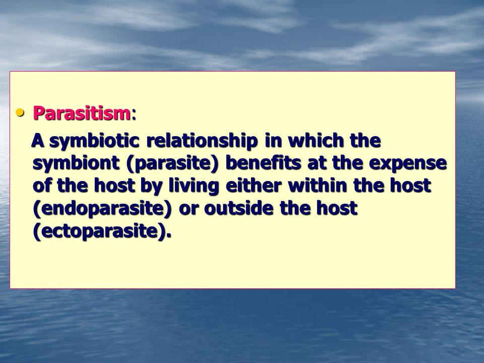 Parasitism: