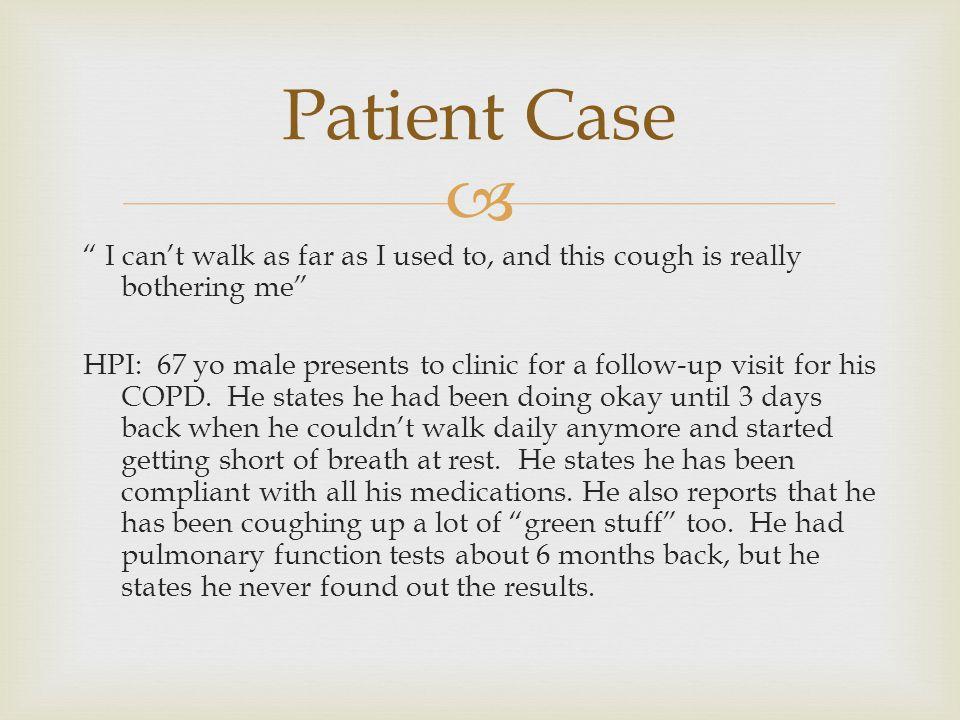 Patient Case