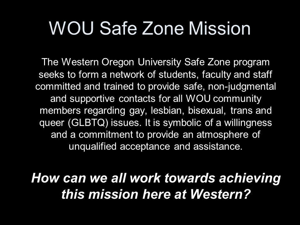 How can we all work towards achieving this mission here at Western