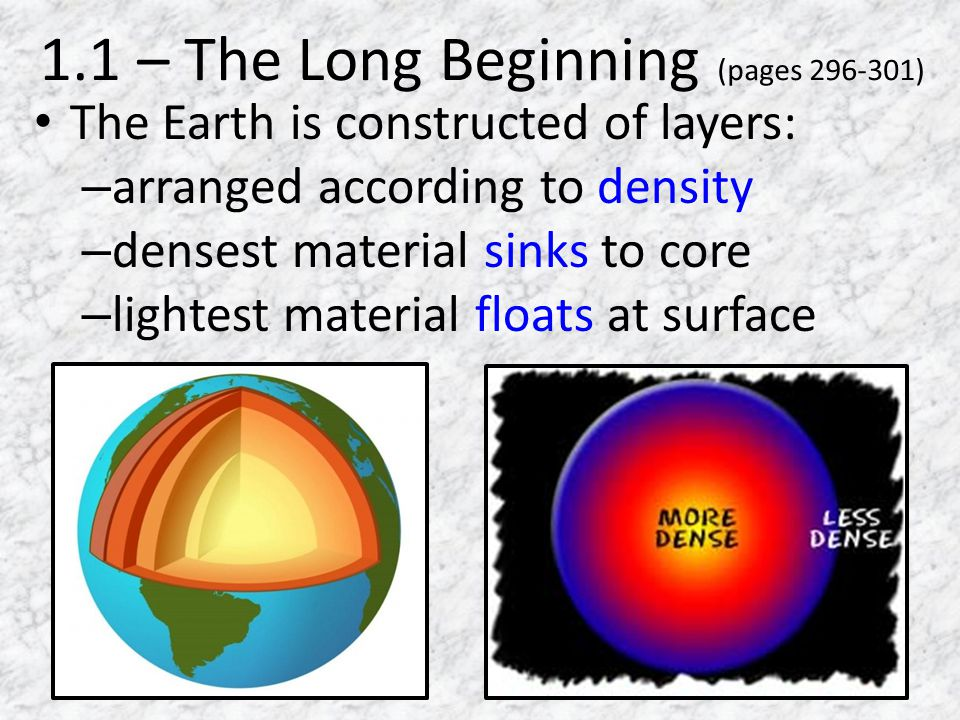 1.1 – The Long Beginning (pages 296-301)