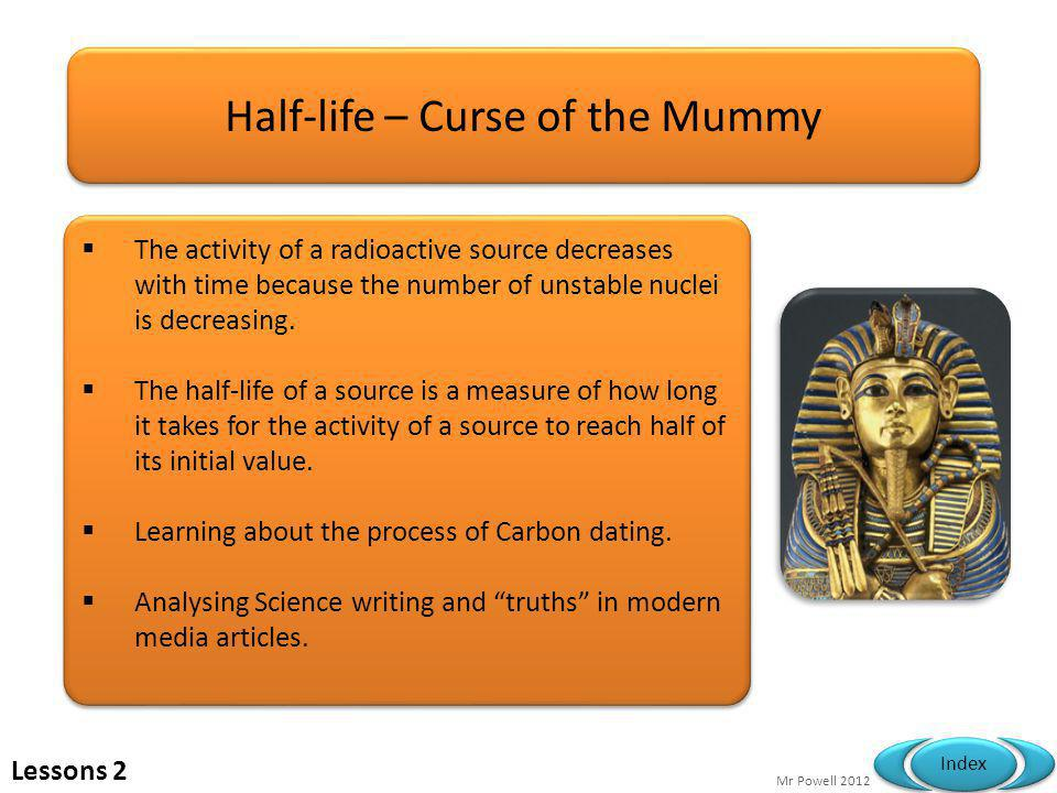 Half-life – Curse of the Mummy