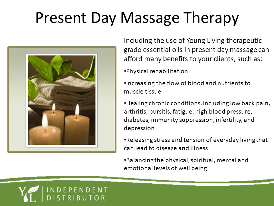 Present Day Massage Therapy