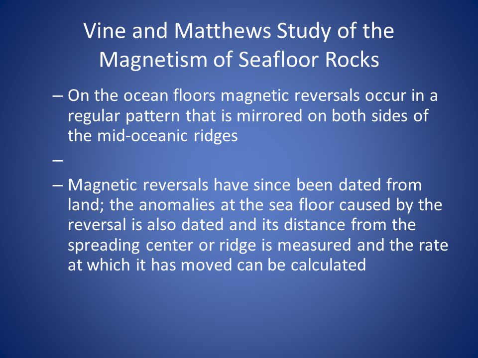 magnetic reversal mid ocean ridges - photo #16