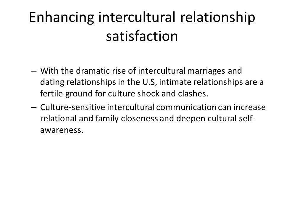 Enhancing intercultural relationship satisfaction