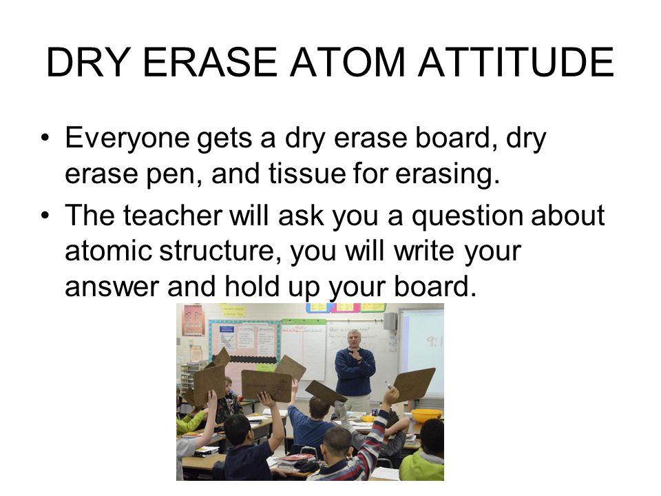 DRY ERASE ATOM ATTITUDE