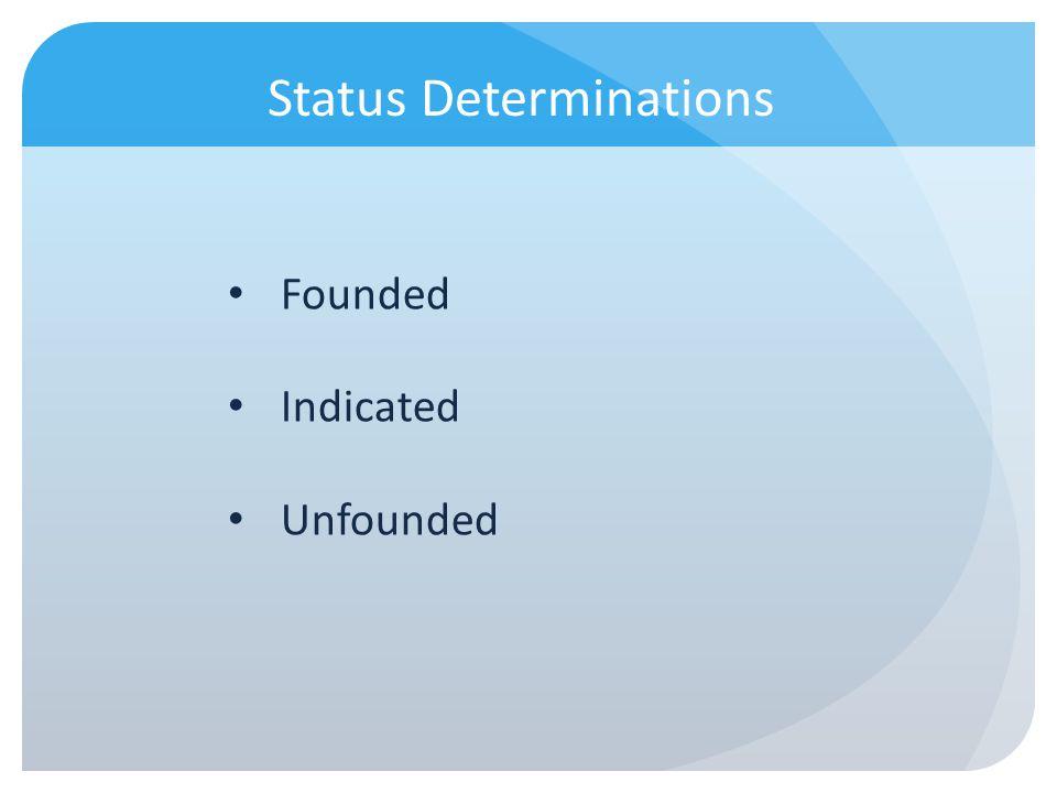 Status Determinations