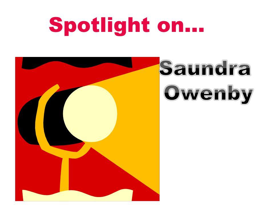 Spotlight on… Saundra Owenby