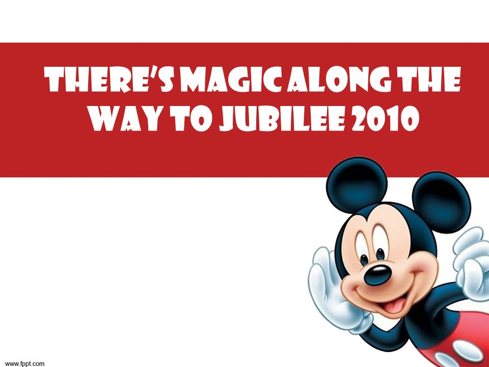 There's Magic along the way to Jubilee 2010