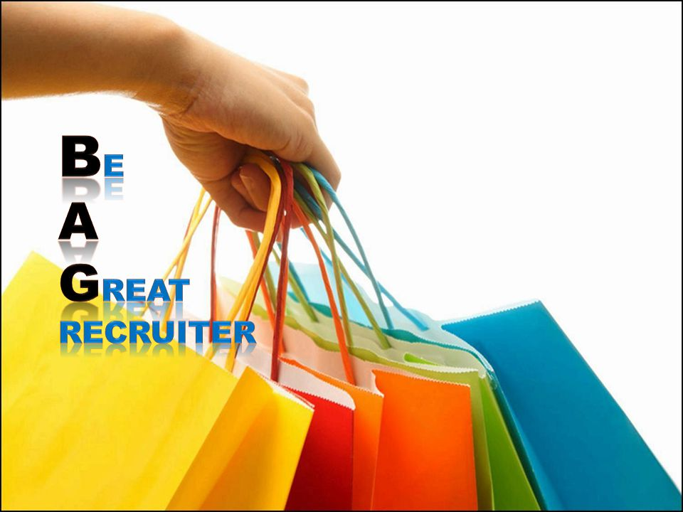 Be A Great RECRUITER