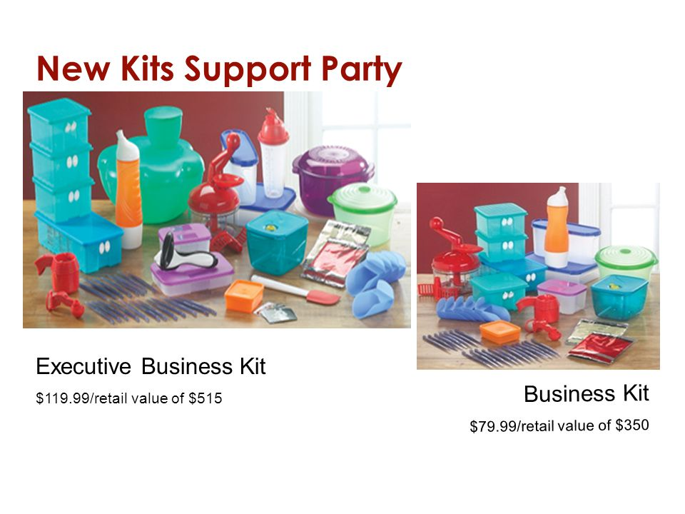 New Kits Support Party Executive Business Kit Business Kit