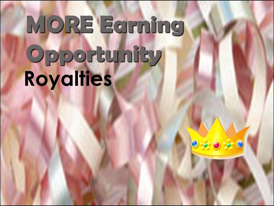 MORE Earning Opportunity
