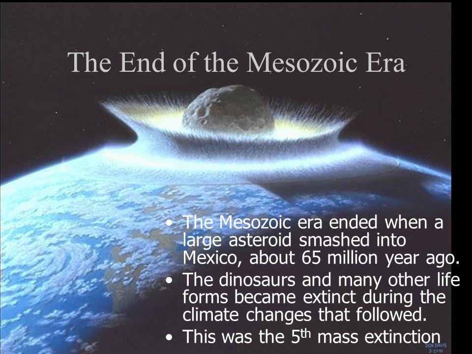 The End of the Mesozoic Era