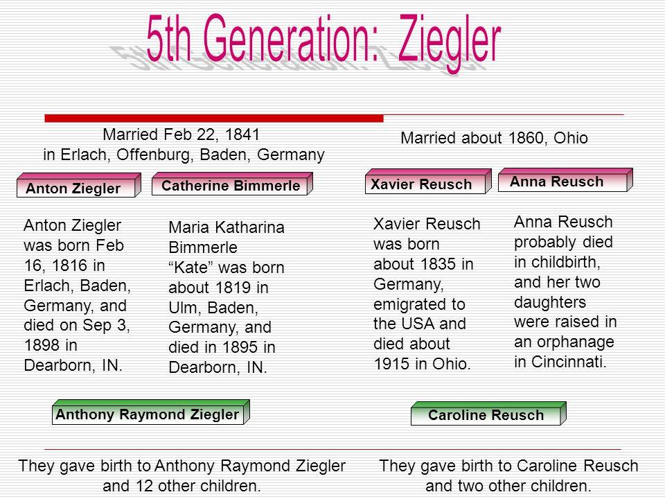 5th Generation: Ziegler