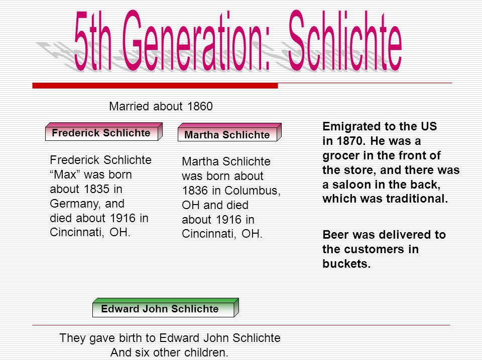 5th Generation: Schlichte