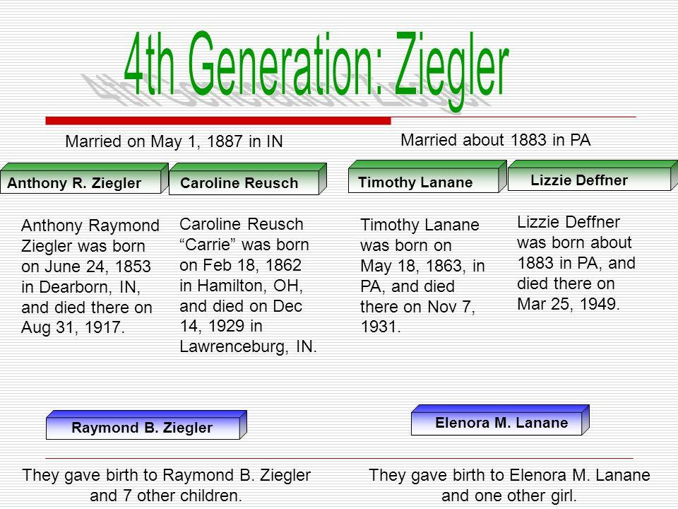 4th Generation: Ziegler