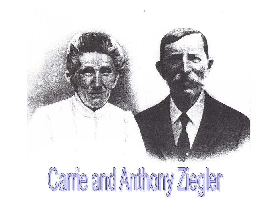Carrie and Anthony Ziegler
