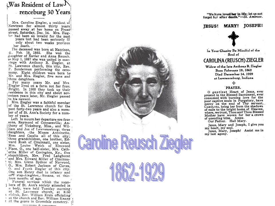 Caroline Reusch Ziegler