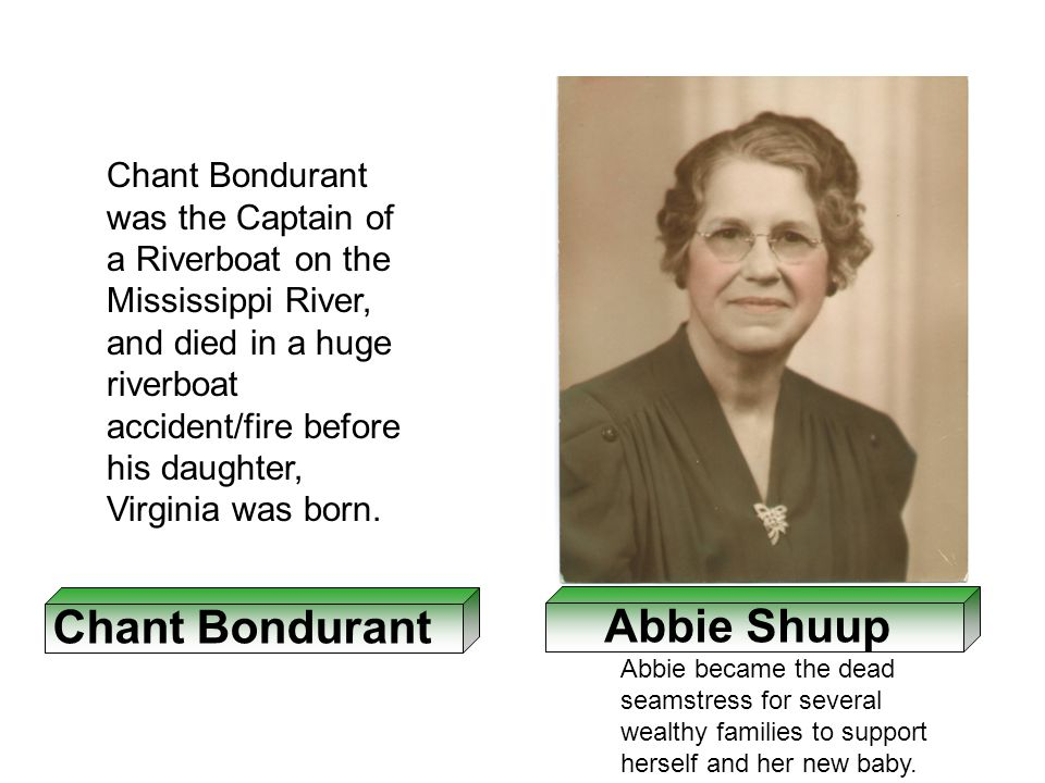 Chant Bondurant Abbie Shuup