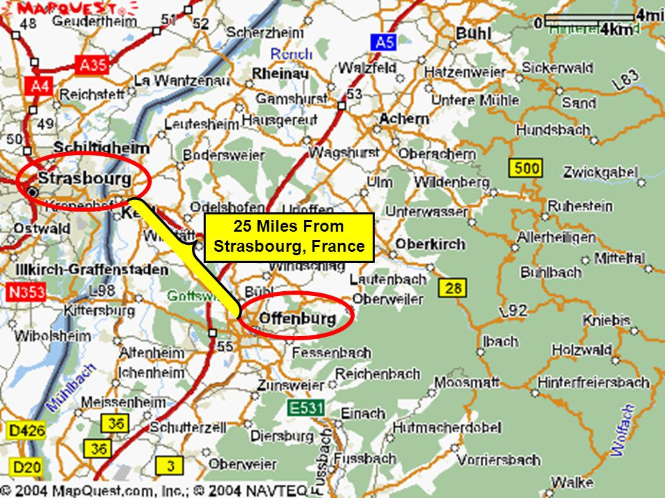 25 Miles From Strasbourg, France